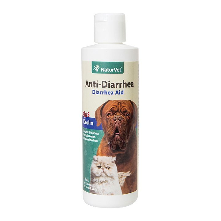 Anti Diarrhea Plus Kaolin Liquid For Dogs And Cats 8 Oz